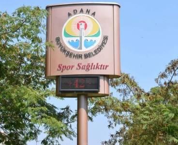 Adana'da termometreler 42 dereceyi gösterdi