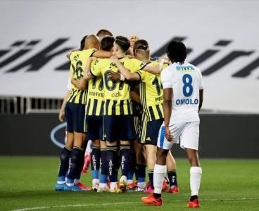Fenerbahçe 15 dakikada Erzurumspor'u yendi