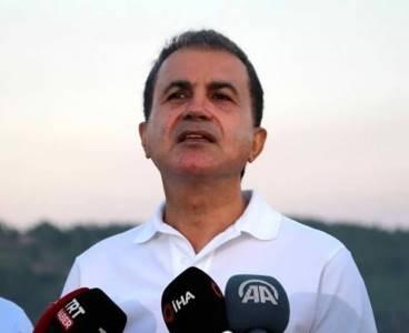AK Partili Ömer Çelik: Yanan alanların yapılaşmaya açılacağı yalan